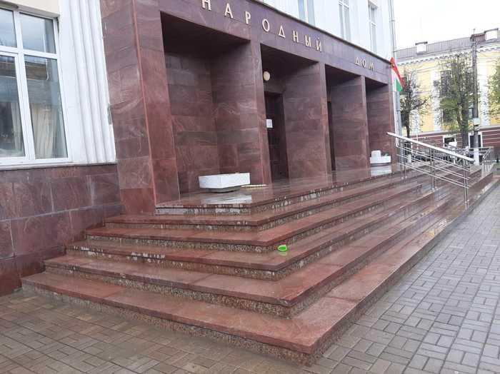 Входная группа Народный Дом Калуга